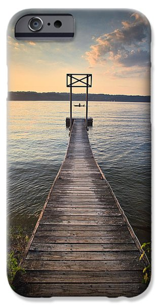 Booker T. iPhone Cases - Booker T Dock 2 iPhone Case by Steven Llorca