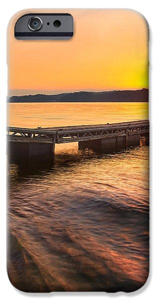Booker T Dock 3 iPhone Case by Steven Llorca