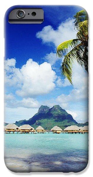 Bora Bora, Lagoon Resort iPhone Case by Himani - Printscapes