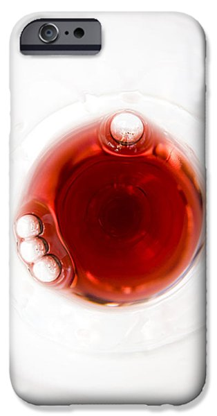 Bordeaux Red iPhone Case by Frank Tschakert