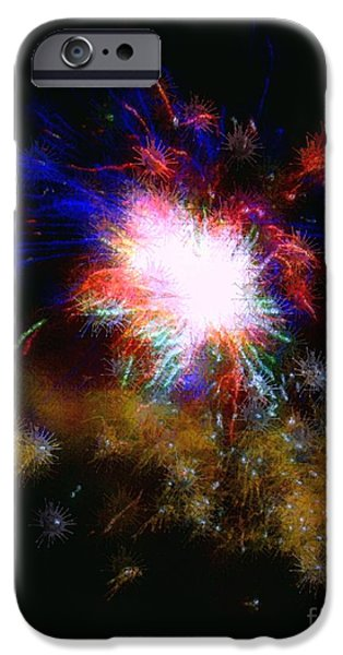 Born on the 4th of July iPhone Case by Dale   Ford