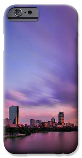 Boston Afterglow iPhone Case by Rick Berk