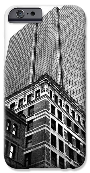 Boston Generations iPhone Case by John Rizzuto