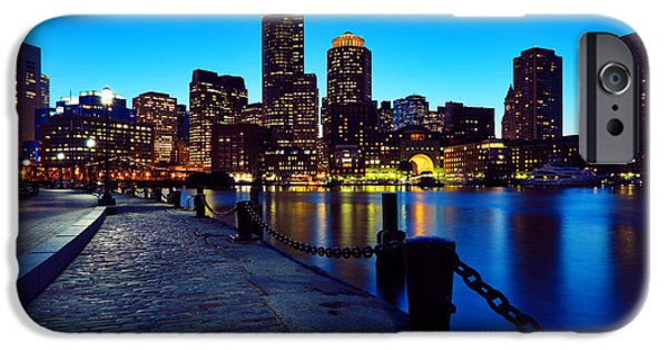 Boston iPhone Cases - Boston Harbor Walk iPhone Case by Rick Berk