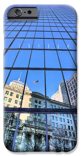 Bean Town iPhone Cases - Boston iPhone Case by JC Findley