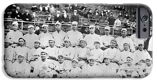 1916 Photographs iPhone Cases - Boston Red Sox, 1916 iPhone Case by Granger