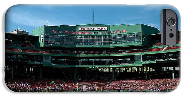 Fenway Park iPhone Cases - Bostons Gem iPhone Case by Paul Mangold
