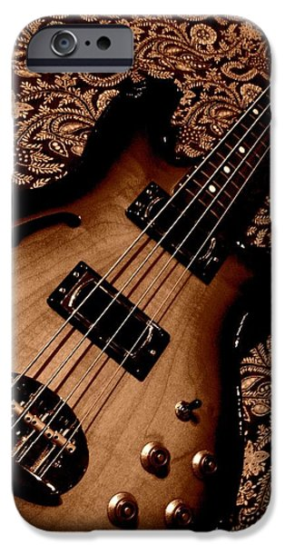 botanical bass iPhone Case by Chris Berry