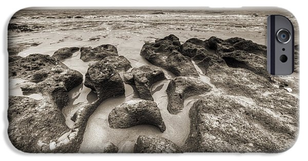 Botany iPhone Cases - Botany Bay Clay Sands iPhone Case by Dustin K Ryan