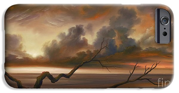 James Christopher Hill Paintings iPhone Cases - Botany Bay iPhone Case by James Christopher Hill