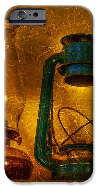 Bottles and Lamps iPhone Case by Evelina Kremsdorf