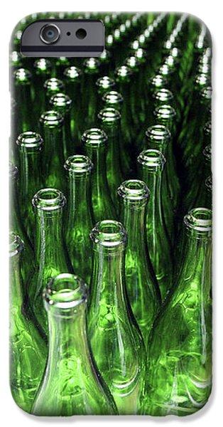 Bottles At A Wine Bottling Factory iPhone Case by Ria Novosti