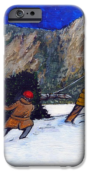 Boulder Christmas iPhone Case by Tom Roderick