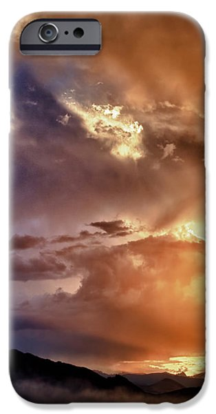 Epic iPhone Cases - Boulder Colorado Smoky Sunset  iPhone Case by James BO  Insogna