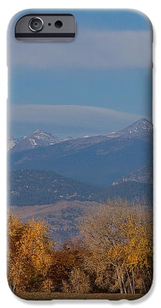 Boulder County Colorado Continental Divide Autumn View iPhone Case by James BO  Insogna