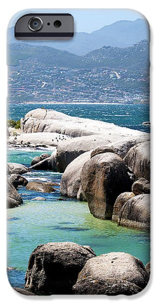 Boulders Beach iPhone Case by Fabrizio Troiani