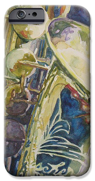 Bouquet of Reeds iPhone Case by Jenny Armitage