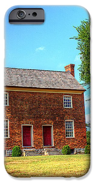 Bowen Plantation House 002 iPhone Case by Barry Jones