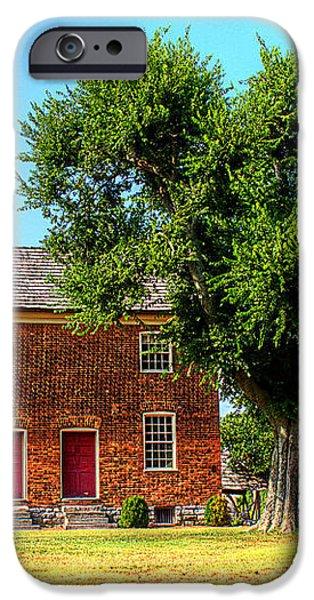 Bowen Plantation House iPhone Case by Barry Jones