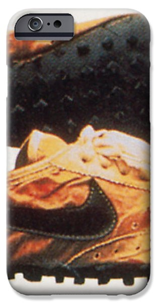 Bowermans Waffle Sole Design iPhone Case by Photo Researchers