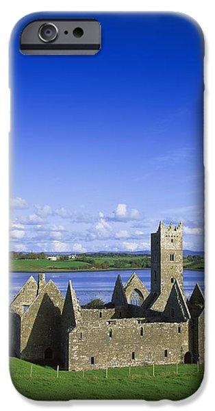 Boyle Abbey, Ballina, Co Mayo iPhone Case by The Irish Image Collection