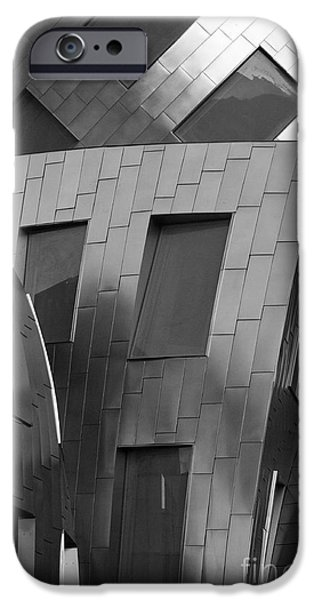 Design iPhone Cases - Brain Institute Building 2 iPhone Case by Bob Christopher