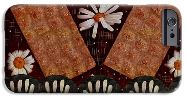 Coins Mixed Media iPhone Cases - Bread And Summer iPhone Case by Pepita Selles