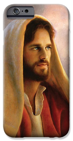 Bread of Life iPhone Case by Greg Olsen