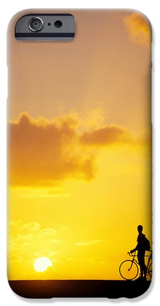 Break At Sunset iPhone Case by Joe Carini - Printscapes