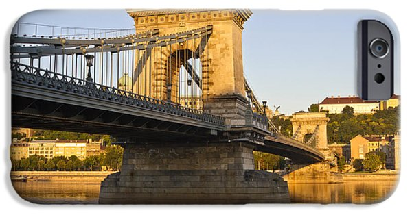 Charles River iPhone Cases - Bridge iPhone Case by David Buffington