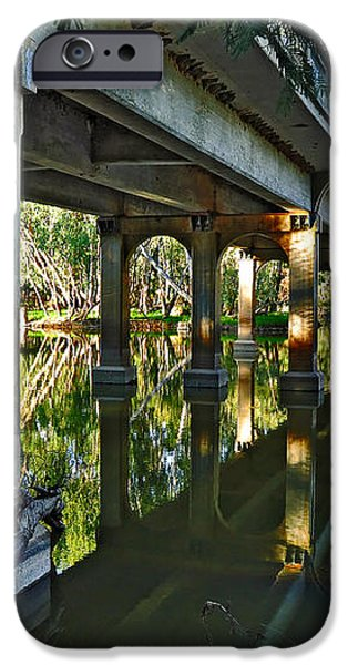 Bridge over Ovens River iPhone Case by Kaye Menner
