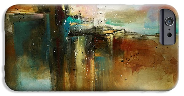Abstracts iPhone Cases - Bridge to Eternity iPhone Case by Michael Lang