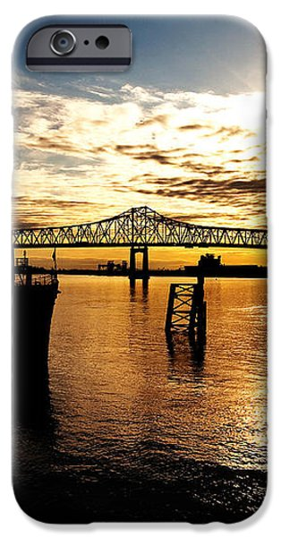 Bright Time on the River iPhone Case by Scott Pellegrin