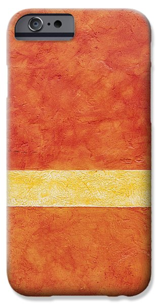 Man Made Space iPhone Cases - Brightly Painted Wall Detail. Resort iPhone Case by Bryan Mullennix