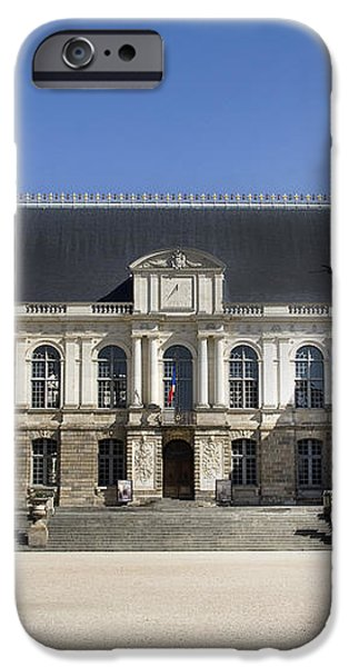 Brittany Parliament iPhone Case by Jane Rix