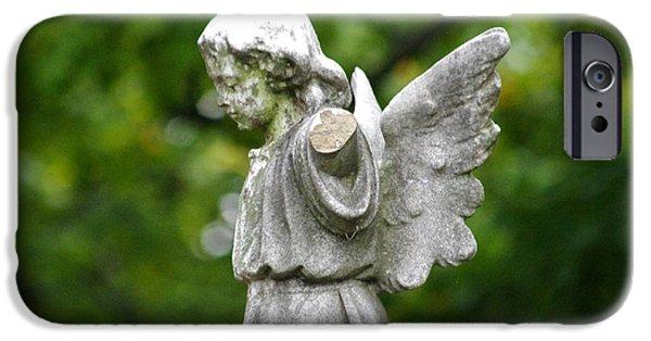 Best Sellers -  - Seraphim Angel iPhone Cases - Broken Angel iPhone Case by J M Lister