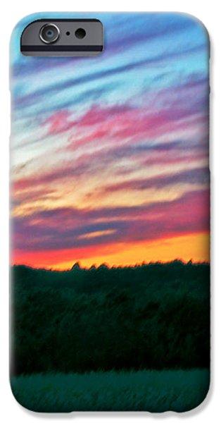BRUSH MARKS OF NATURE iPhone Case by Debra     Vatalaro