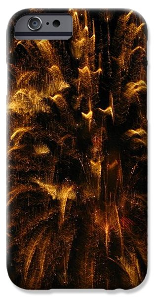 Brushed Gold iPhone Case by Rhonda Barrett