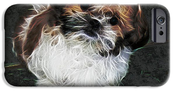 Puppy Digital iPhone Cases - Bubba-remember When iPhone Case by EricaMaxine  Price