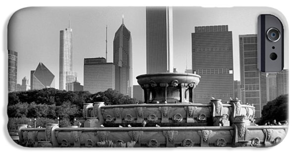 Ely Arsha iPhone Cases - Buckingham Fountain - 2 iPhone Case by Ely Arsha