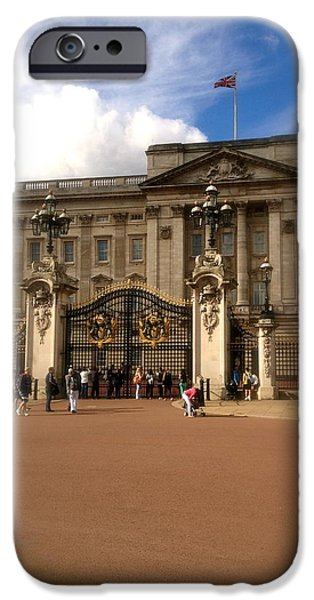 Kate Middleton iPhone Cases - Buckingham Palace iPhone Case by John Colley
