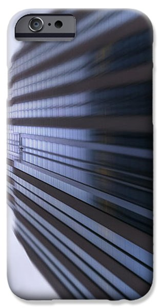 Buildings Abstract iPhone Case by Svetlana Sewell