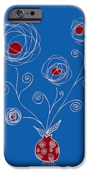 Bulb Flower iPhone Case by Frank Tschakert