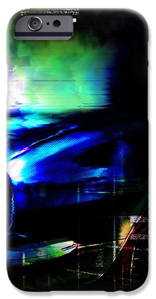 Burn Out iPhone Case by ADAM VANCE