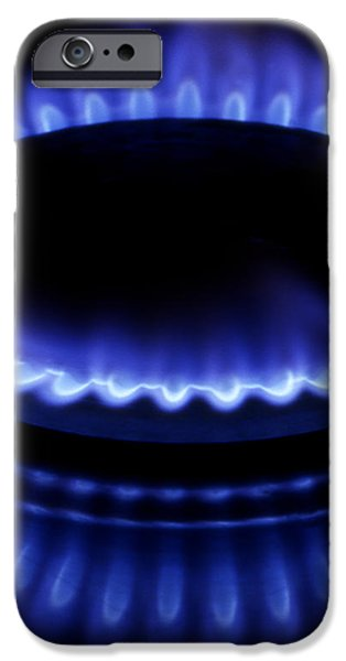 Burning gas iPhone Case by Fabrizio Troiani