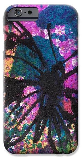 Butterfly Bliss iPhone Case by Oddball Art Co by Lizzy Love