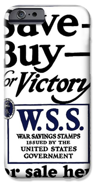War iPhone Cases - Buy For Victory iPhone Case by War Is Hell Store