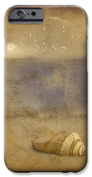 By The Sea iPhone Case by Ron Jones