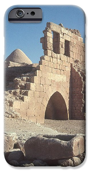 Byzantine Ruins iPhone Case by Photo Researchers, Inc.