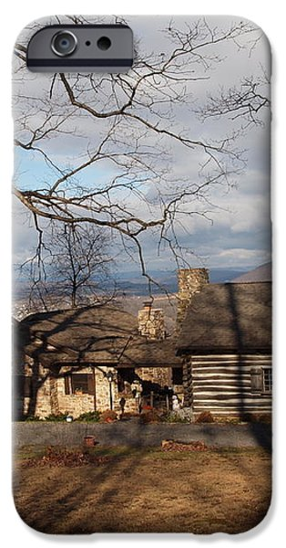 cabin in the woods iPhone Case by Robert Margetts